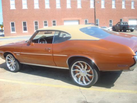 1971 Oldsmobile Cutlass Supreme in O.E. Paint Job