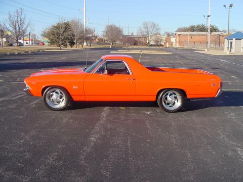 1969 Chevrolet El Camino SS 396 in Hugger Orange
