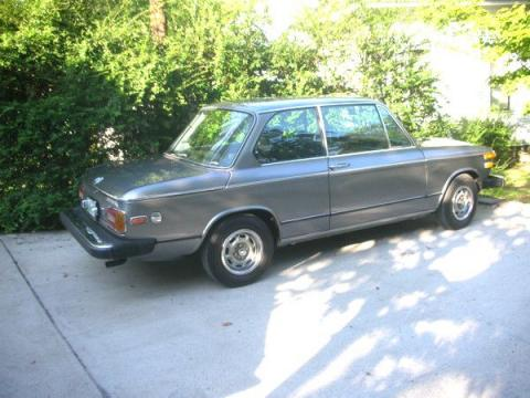 1974 BMW 2002 Tii  in Anthracite Gray Metallic