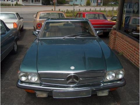 1979 Mercedes-Benz SL Class 450 SL Roadster in Green
