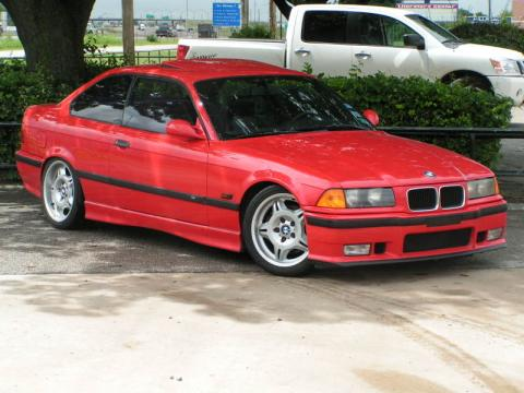 1995 BMW M3 Coupe in Hellrot Red