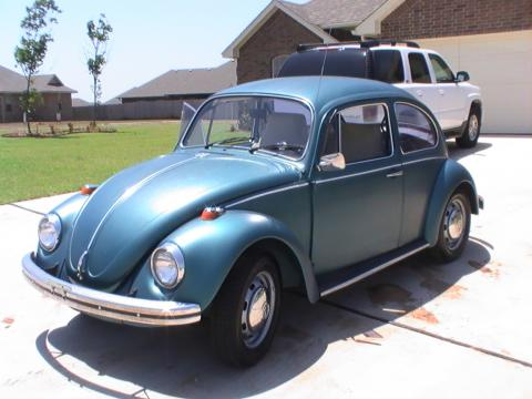 1969 Volkswagen Beetle  in Green