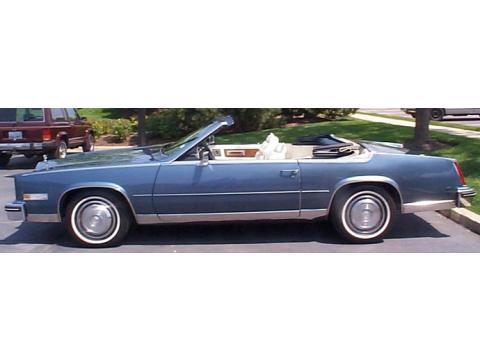 1985 Cadillac Eldorado Convertible in Blue