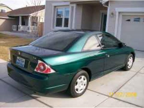 2001 Honda Civic LX Coupe in Clover Green