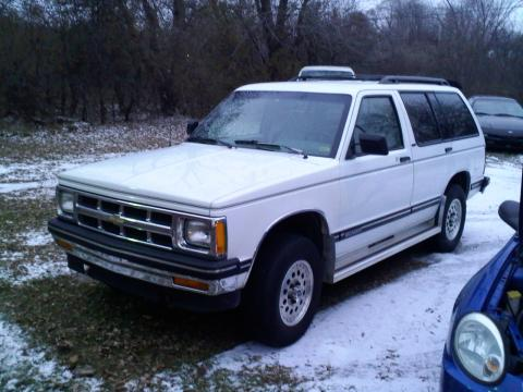 1993 Chevrolet Blazer  4x4 in Summit White