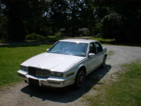 1988 Cadillac SeVille Luxury Touring in White