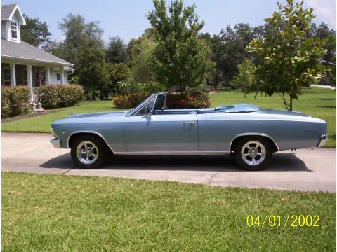 1966 Chevrolet Chevelle Convertible in Mist Blue