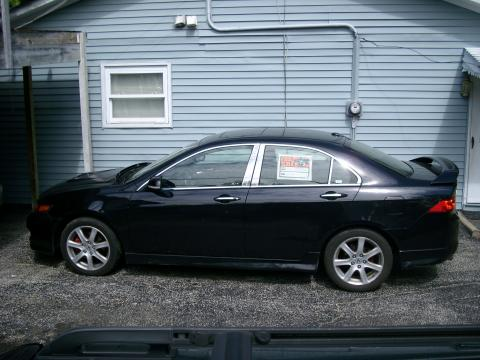2005 Acura TSX Sedan in Nighthawk Black Pearl