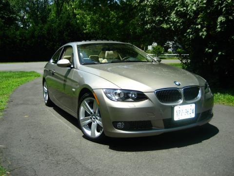 2007 BMW 3 Series 335i Coupe in Platinum Bronze Metallic