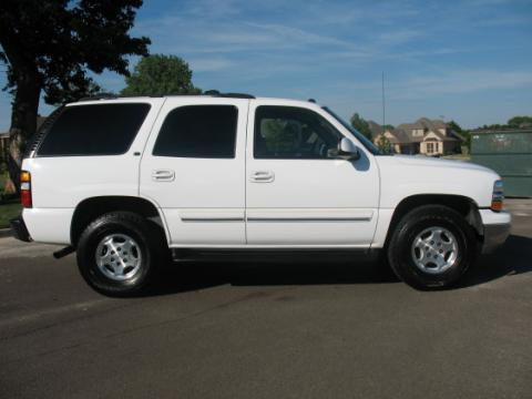 2003 Chevrolet Tahoe Z71 4x4 in Summit White
