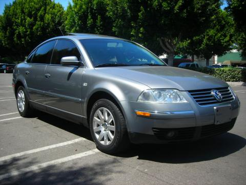 2003 Volkswagen Passat GLS Sedan in Silverstone Grey Metallic