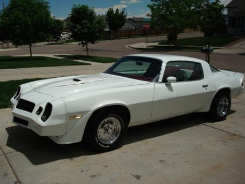 1978 Chevrolet Camaro  in White