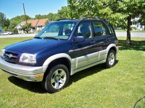 2000 Suzuki Grand Vitara JLX 4x4 in Baltic Blue Metallic