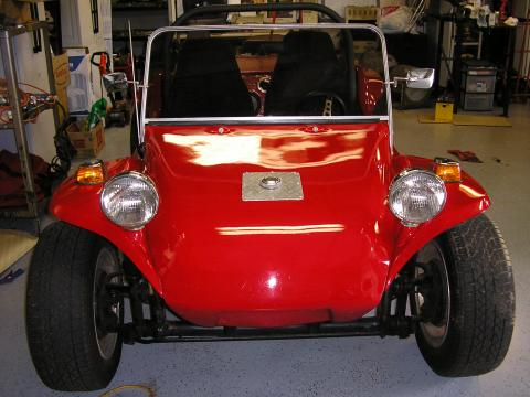 1966 Volkswagen Dune Buggy Manx Body in Bright Red