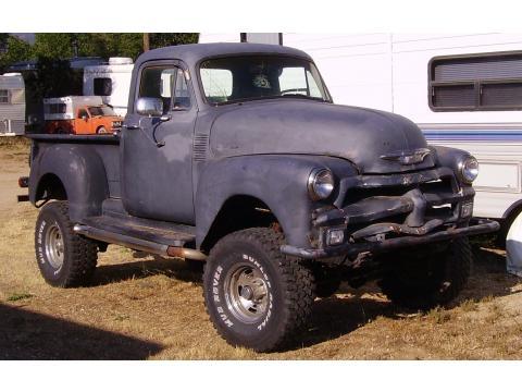 1954 Chevrolet 3100 5 Window Truck in Primer Gray