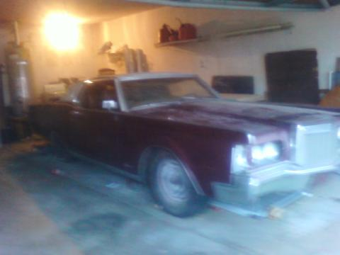 1968 Lincoln Continental Mark III Coupe in Brown