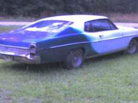 1968 Ford Galaxie 500 Fastback in Needs Paint