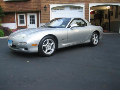 1993 Mazda RX-7 Twin Turbo Touring in Silver Stone Metallic