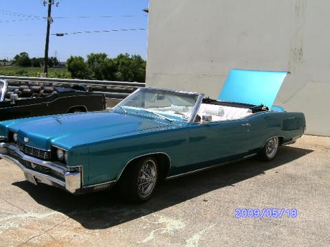 1969 Mercury Marquis Convertible in Greenish Blue