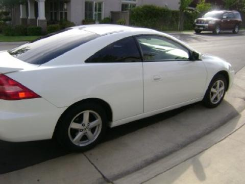 2005 Honda Accord EX V6 Coupe in Taffeta White