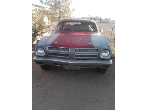 1973 Pontiac Ventura 2 Door Coupe in Primer Red