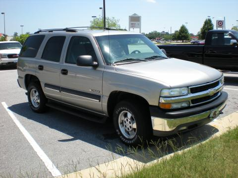 2003 Chevrolet Tahoe 4x4 in Light Pewter Metallic