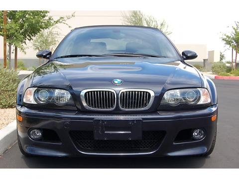 2003 BMW M3 Convertible in Carbon Black Metallic