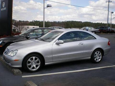 2004 Mercedes-Benz CLK 320 Coupe in Pewter Metallic
