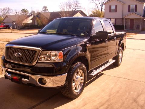 2006 Ford F150 Lariat SuperCrew 4x4 in Black