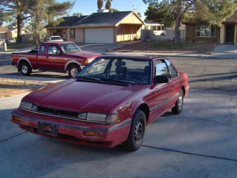 1986 Honda Prelude 2.0 Si in Red