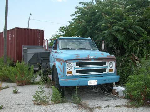 1970 GMC C60 Truck in Blue