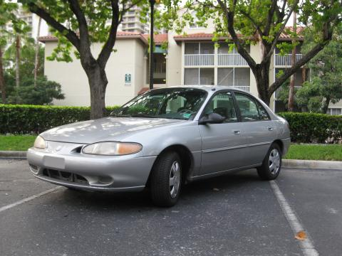 1997 Mercury Tracer LS Sedan in Silver Frost Metallic