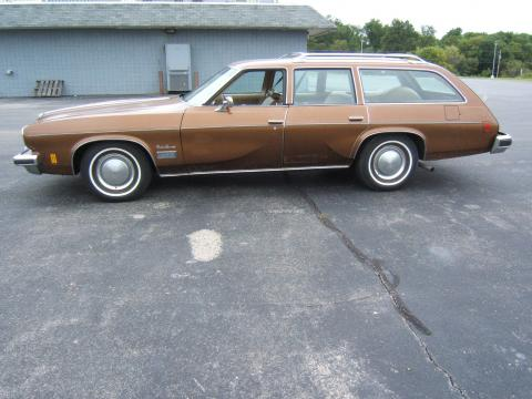 1974 Oldsmobile Cutlass Supreme Station Wagon in Clove Brown Poly