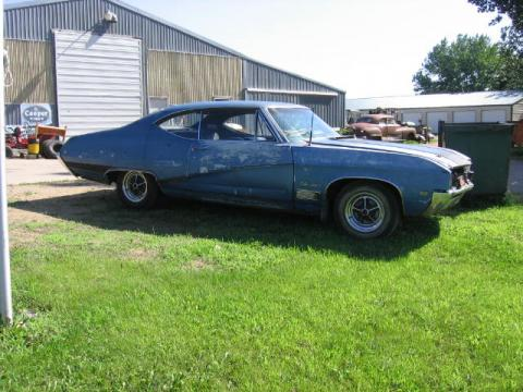 1968 Buick GS 400 Coupe in Blue