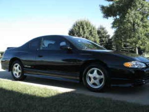 2004 Chevrolet Monte Carlo Intimidator SS in Black