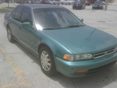 1990 Honda Accord EX Sedan in Green Metallic