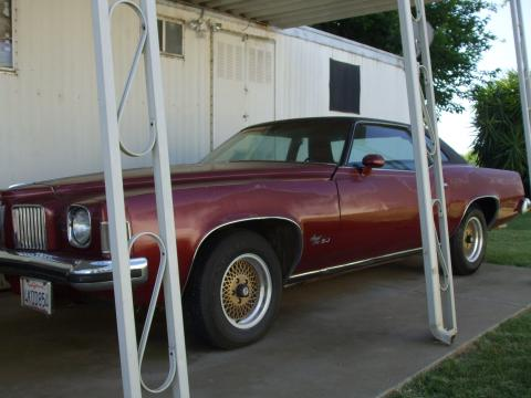 1973 Pontiac Grand Prix SJ in Burgundy