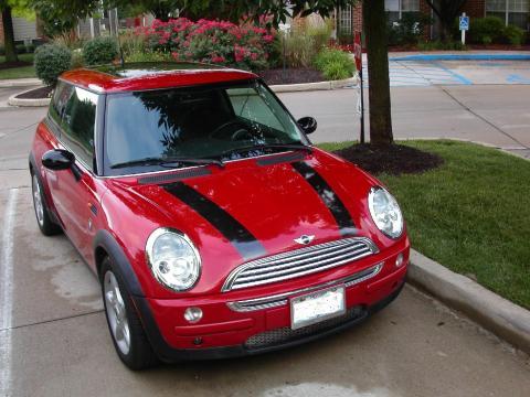 2004 Mini Cooper Hardtop in Chili Red
