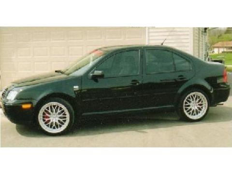 2001 Volkswagen Jetta Wolfsburg Edition Sedan in Black