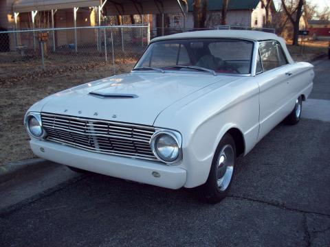 1963 Ford Falcon Convertible in White Pearl