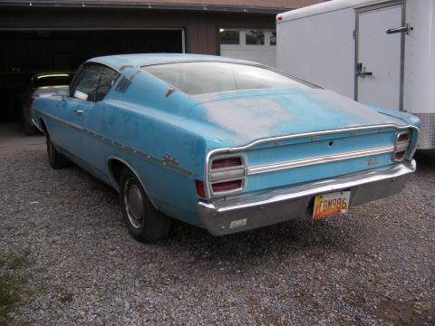 1968 Ford Fairlane 500 Fastback in Blue