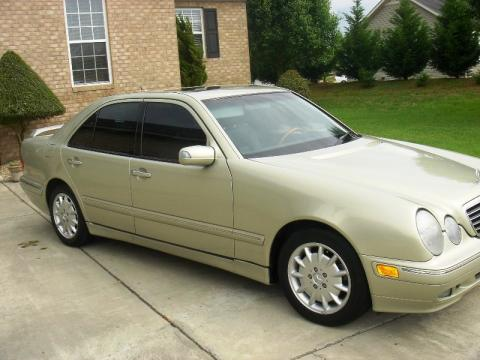 2000 Mercedes-Benz E 320 designo Edition Sedan in designo Silver Metallic