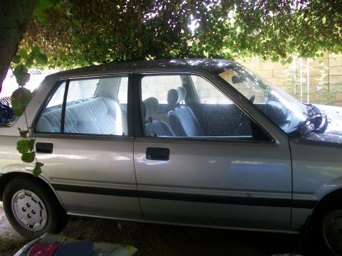 1984 Honda Civic S Hatchback in Gray