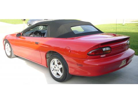 1997 Chevrolet Camaro Convertible in Bright Red