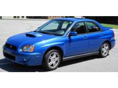 2004 Subaru Impreza WRX Sedan in WR Blue Pearl