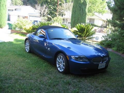 2008 BMW Z4 3.0i Roadster in Montego Blue Metallic