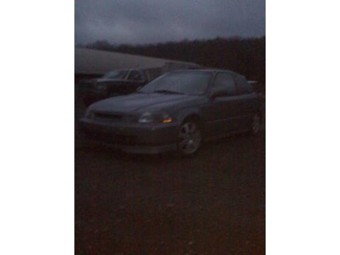 1997 Honda Civic Hatchback in Gunmetal