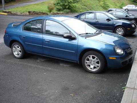2003 Dodge Neon SXT in Atlantic Blue Pearl