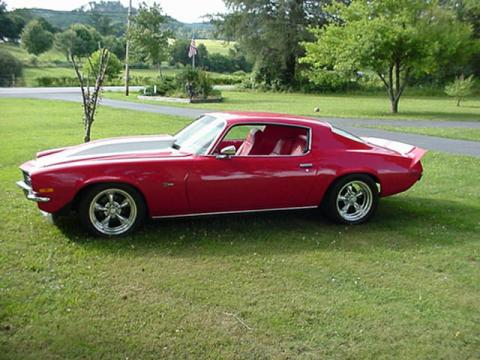 1970 Chevrolet Camaro Z28 in Red