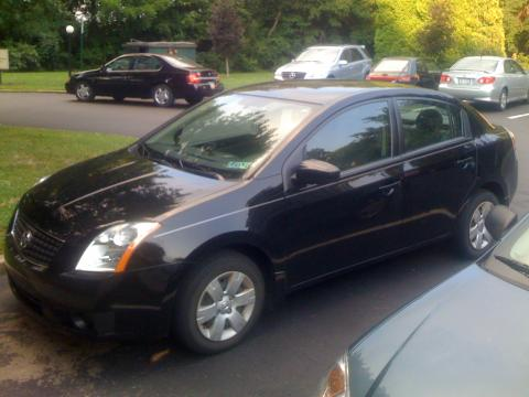 2007 Nissan Sentra 2.0 in Super Black